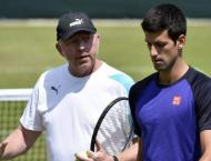 Tennis: Djokovic says no talks on retaining Becker