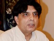 Nisar lauds security agencies for maintaining peace during