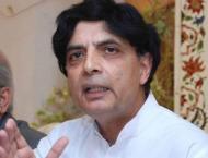 Nisar directs NADRA, police to end traffic logjams in Islamabad