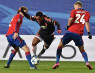Football: CSKA edge Ufa to go top in Russia