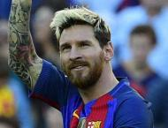 Football: Messi scores on return in Barca rout, Sevilla top