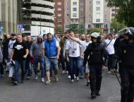 Seven injured as Polish fans clash with police in Madrid