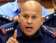 Angry Philippine police chief suspends officers