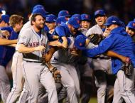 CORRECTED: Baseball: Cubs one win away from World Series spot