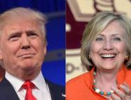 Trump, Clinton blitz battleground Florida
