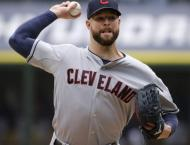 Baseball: Indians counting on more heroics from Kluber, Perez