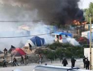 Fresh fires break out at Calais 'Jungle' camp: AFP