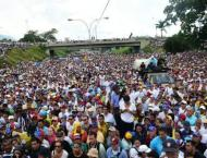 More than 20 hurt, 39 detained at Venezuela protests: rights grou ..