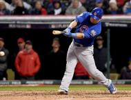 Baseball: Cubs hero Schwarber reduced to pinch-hitter role