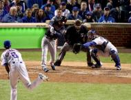 Baseball: Indians edge Cubs 1-0 to seize World Series lead