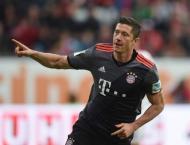 Football: Lewandowski, Robben shine as Bayern floor Augsburg agai ..