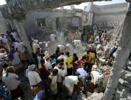 Coalition strikes on Yemen detention centre kill 60