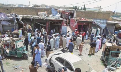 مقتل 59 شخصاً وإصابة أكثر من 100 آخر إثر هجوم إرهابي على كلية لتدريب الشرطة في مدينة كويتا الباكستانية