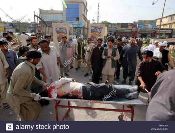 مقتل 6 أشخاص وإصابة 21 آخر بجروح جراء انفجار قنبلتين استهدفتا قطار للركاب في إقليم بلوشستان بباكستان