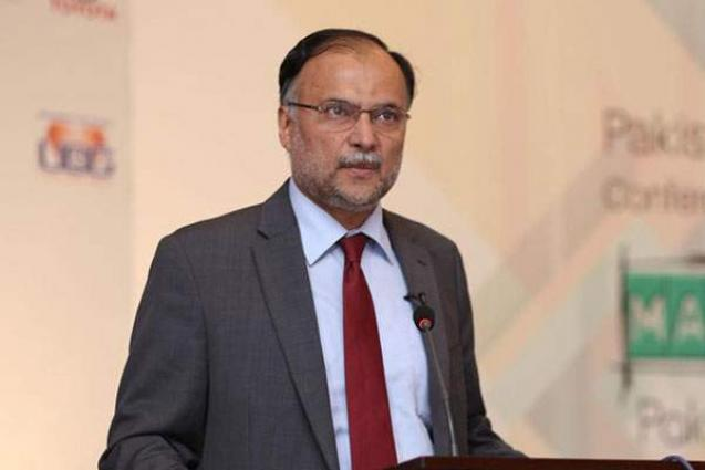 Ahsan Iqbal calls for political stability for growth, development