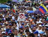 Opposition lawmakers stage 'trial' of Venezuelan leader