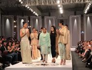 Mukhtaran Mai walks the ramp awaking awareness for abondaned wome ..