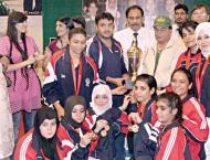 Wapda dominate opening day of national women karate