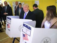 Trump casts vote in historic US election