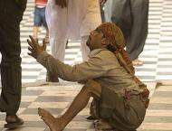 People demand action against beggars
