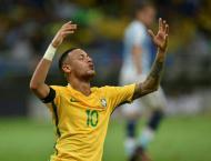 Neymar' Brazil leave Argentina struggling for 2018 place