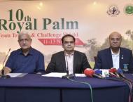 Lahore Garrison team leads Royal Palm golf trophy