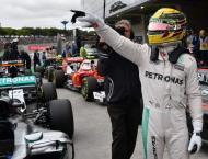 Formula One: Hamilton edges Rosberg for Brazilian pole