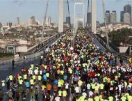 Thousands run in 38th Vodafone Istanbul Marathon