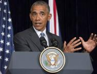 Obama says US must continue to be 'beacon of hope'