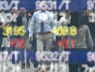 Most Asian markets up after sell-off but Tokyo dips