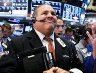 Dow, European stocks, dollar push higher tracking Trump