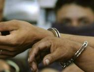 Three held for extortion