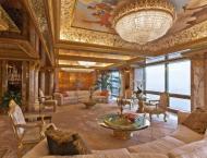 Pictorial Tour of Donald Trump's Opulent Penthouse