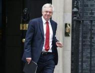 Britain's Davis in first talks with EU's 'Monsieur Brexit'