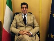 Italian Envoy meets chairperson SBI