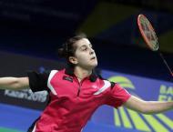 Badminton: It's a scream as Marin reaches Hong Kong semis