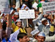Tens of thousands protest against India cash ban