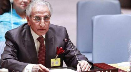 باكستان تحث الأعضاء الدائمين لمجلس الأمن للأمم المتحدة على إيفاء وعودها حول نزاع كشمير