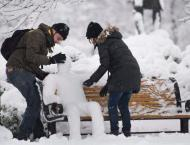 First snowstorm of the year slams eastern Canada