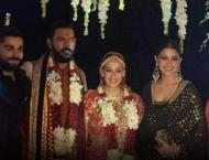 Yuvraj Singh ties the knot with Hazel Keech