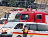 Rescue 1122 responded to 1549 emergency calls