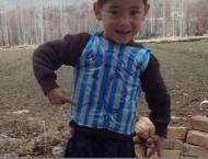 Football: Afghan bag shirt boy meets his idol Messi