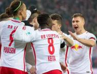 Football: Leipzig down Hertha to knock Bayern from top