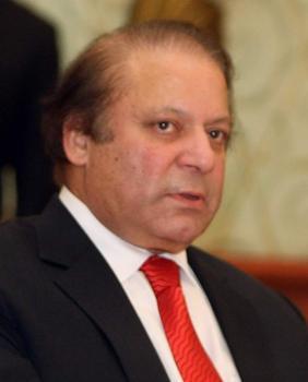 رئيس الاستخبارات الباكستانية يلتقي رئيس الوزراء نواز شريف