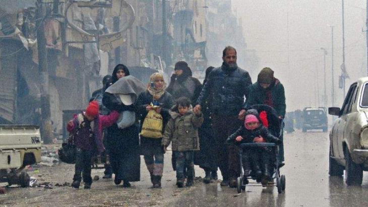 Deal to evacuate civilians, fighters from Aleppo: rebel official