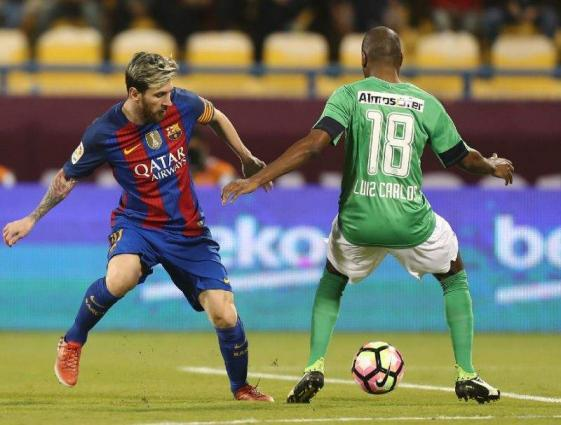 Barcelona beat Al-Ahli in eight-goal friendly