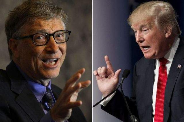 Bill Gates urges Trump to inspire Americans like JFK did