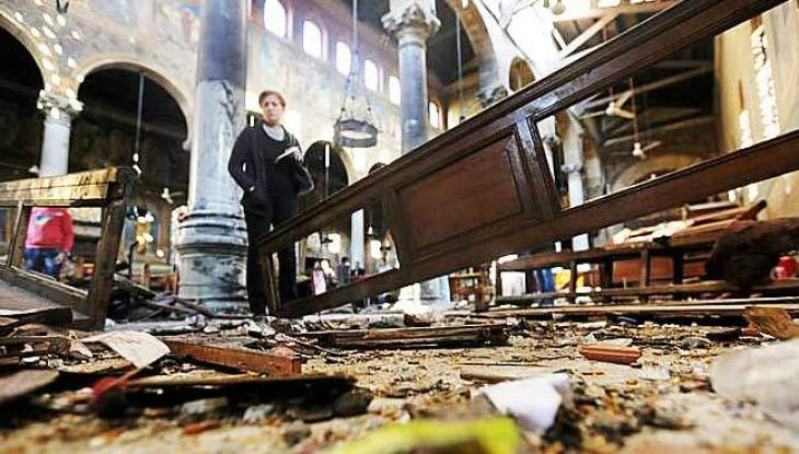 IS claims deadly Cairo church bombing