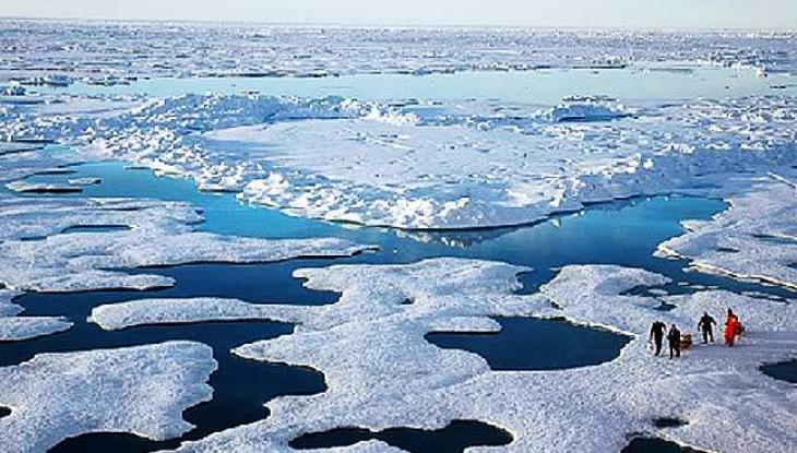 Hottest Arctic on record triggers massive ice melt