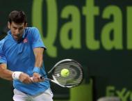 Tennis: Djokovic survives scare in season opener in Doha